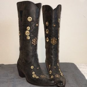 Roper Embroidered boots